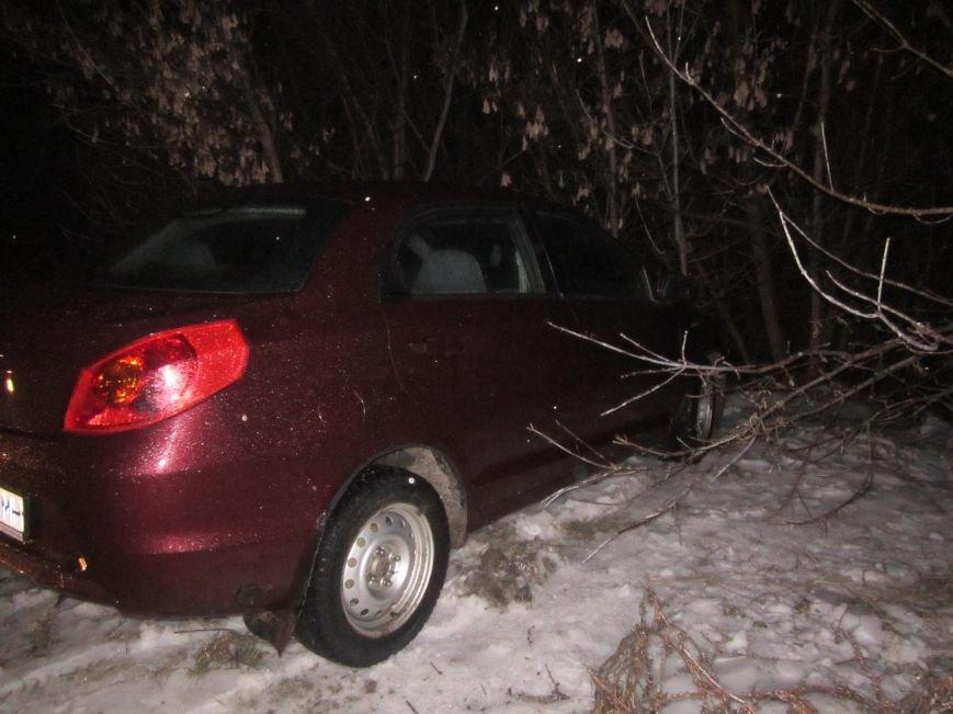 За сутки «непогоды» на дорогах в Горловке произошло 4 ДТП. Обошлось без пострадавших, фото-1