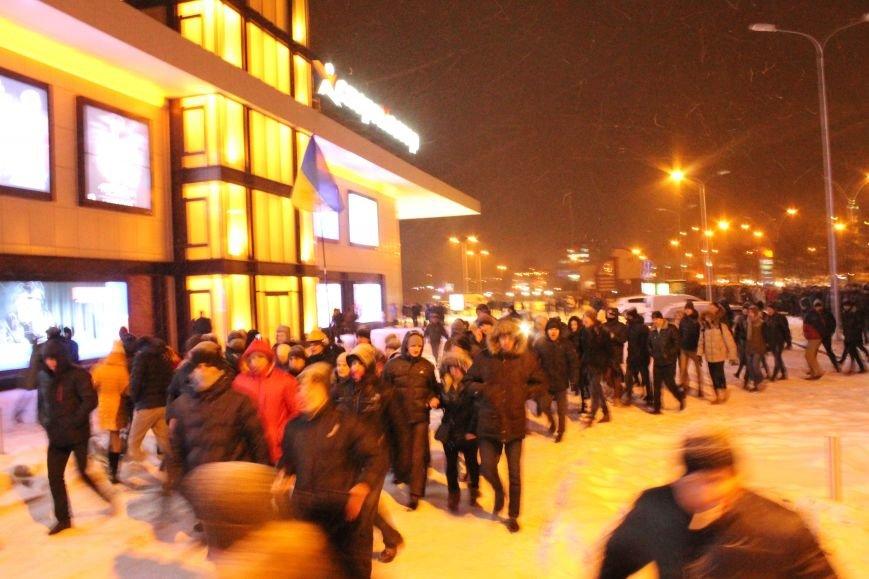 В Сумах «майдановцы» заблокировали дороги и прошлись по ним маршем (ФОТО+ВИДЕО), фото-1