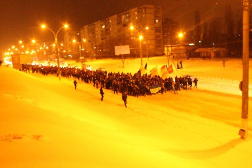 В Сумах «майдановцы» заблокировали дороги и прошлись по ним маршем (ФОТО+ВИДЕО), фото-6