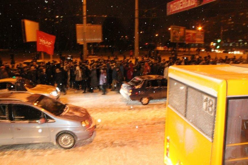 В Сумах «майдановцы» заблокировали дороги и прошлись по ним маршем (ФОТО+ВИДЕО), фото-5