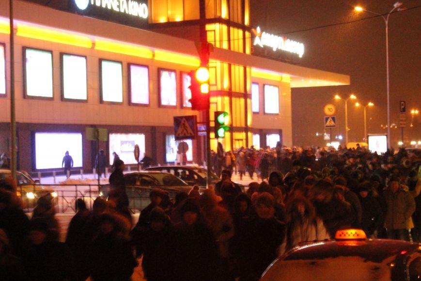 В Сумах «майдановцы» заблокировали дороги и прошлись по ним маршем (ФОТО+ВИДЕО), фото-2