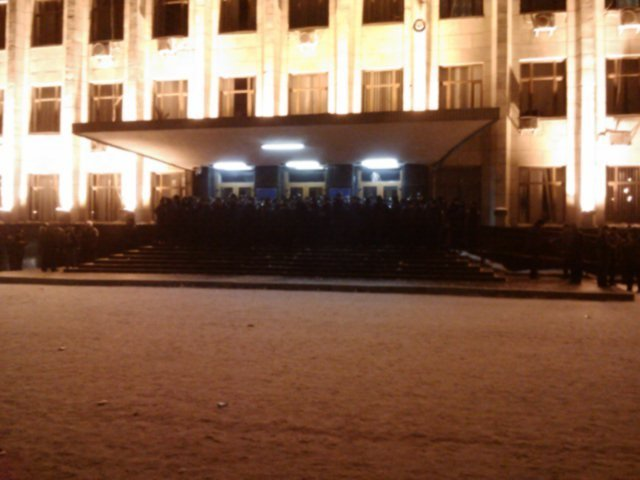 Житомирські мітингувальники залишили майдан Корольова (ФОТО, ВІДЕО), фото-3