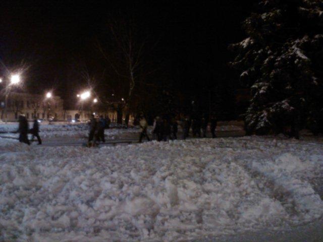 Житомирські мітингувальники залишили майдан Корольова (ФОТО, ВІДЕО), фото-2