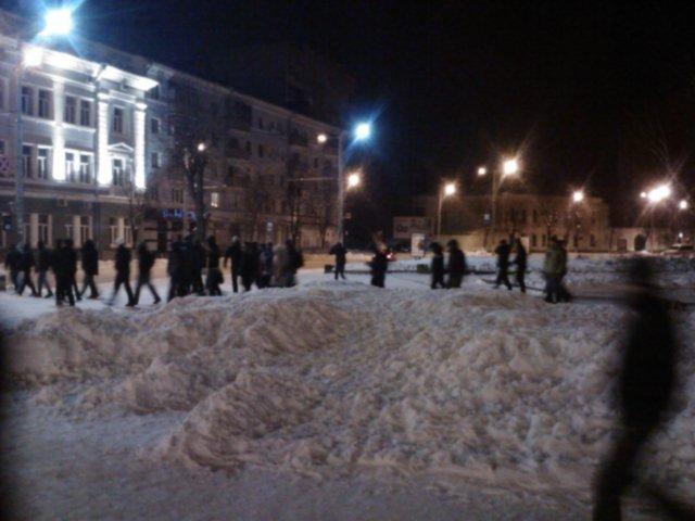 Житомирські мітингувальники залишили майдан Корольова (ФОТО, ВІДЕО), фото-1