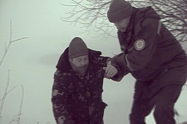 У Тернополі з крижаної купелі врятовано рибалку, який провалився під лід (фото, відео), фото-1