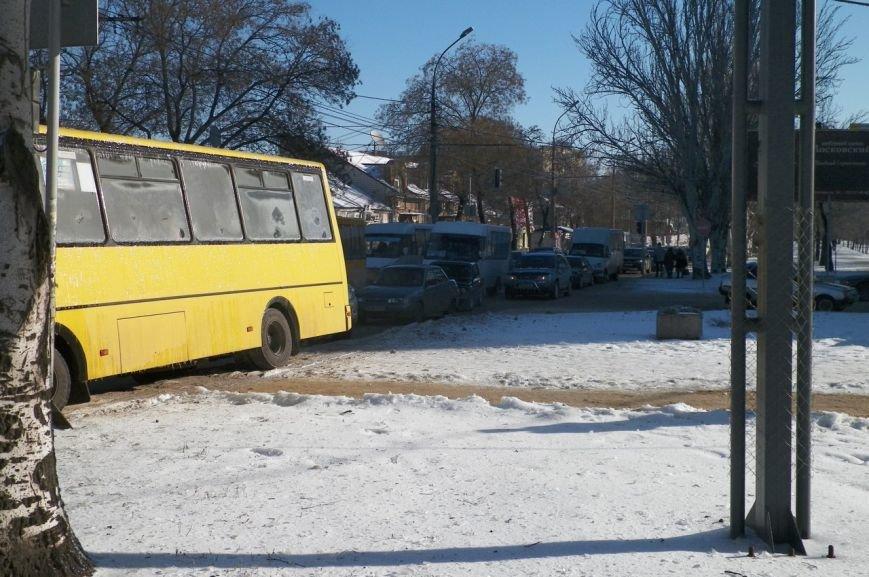 В центре Николаева образовалась пробка из-за ДТП (ФОТО), фото-4