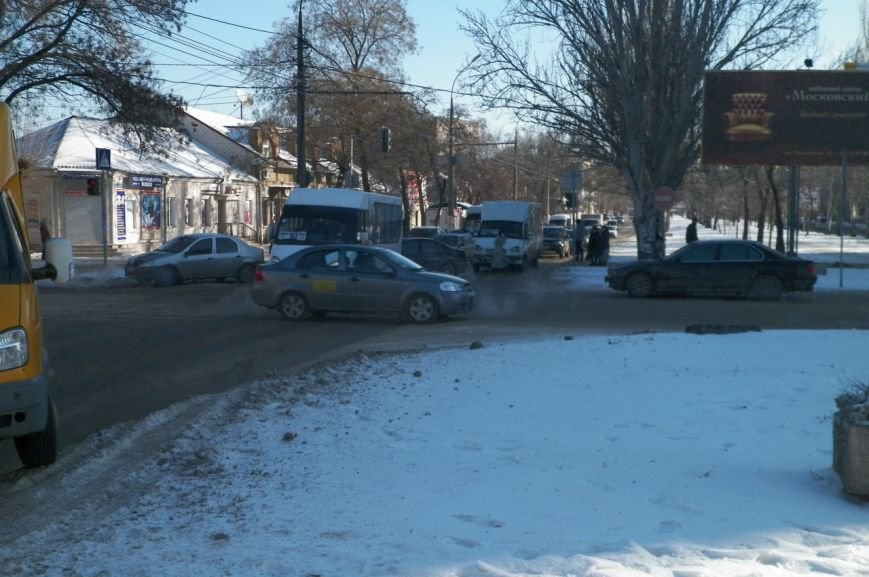 В центре Николаева образовалась пробка из-за ДТП (ФОТО), фото-3