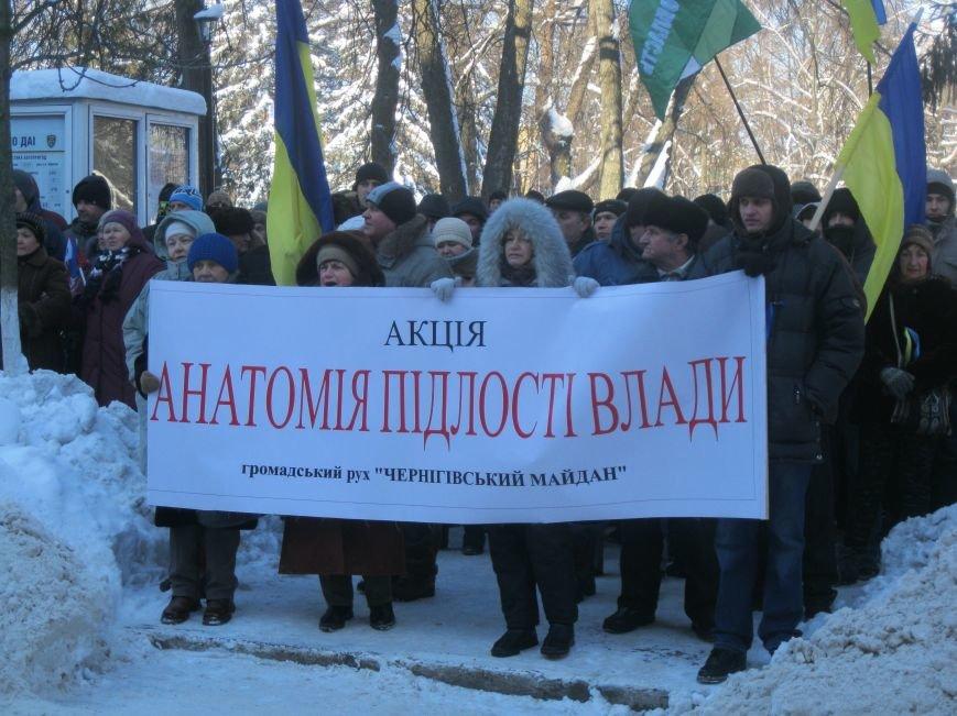 Черниговцы анатомировали «подлость власти», фото-2