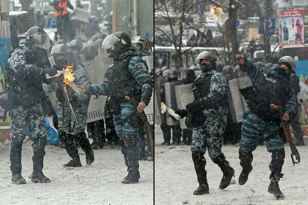 Виталий Захарченко обвинил протестующих в «нарушении перемирия» и нападениях на милицию, фото-1
