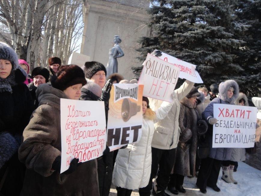 Больше тысячи красноармейчан вышли на митинг в поддержку власти (ФОТО), фото-7
