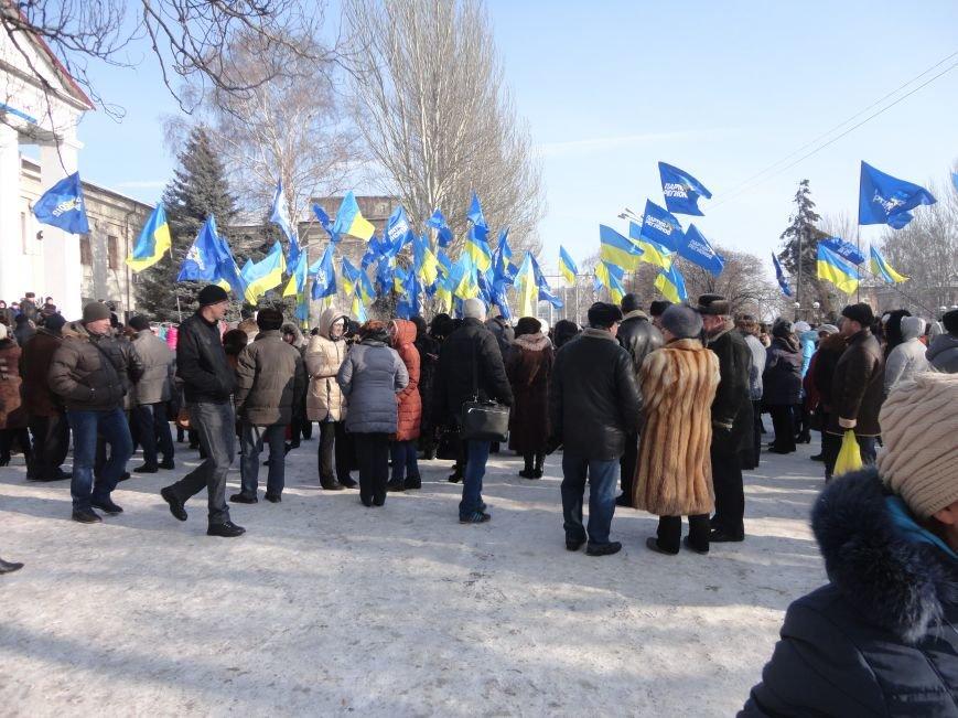 Больше тысячи красноармейчан вышли на митинг в поддержку власти (ФОТО), фото-2