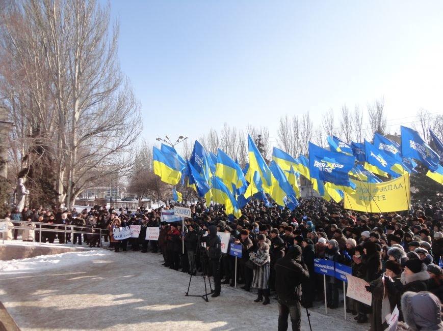 Больше тысячи красноармейчан вышли на митинг в поддержку власти (ФОТО), фото-15