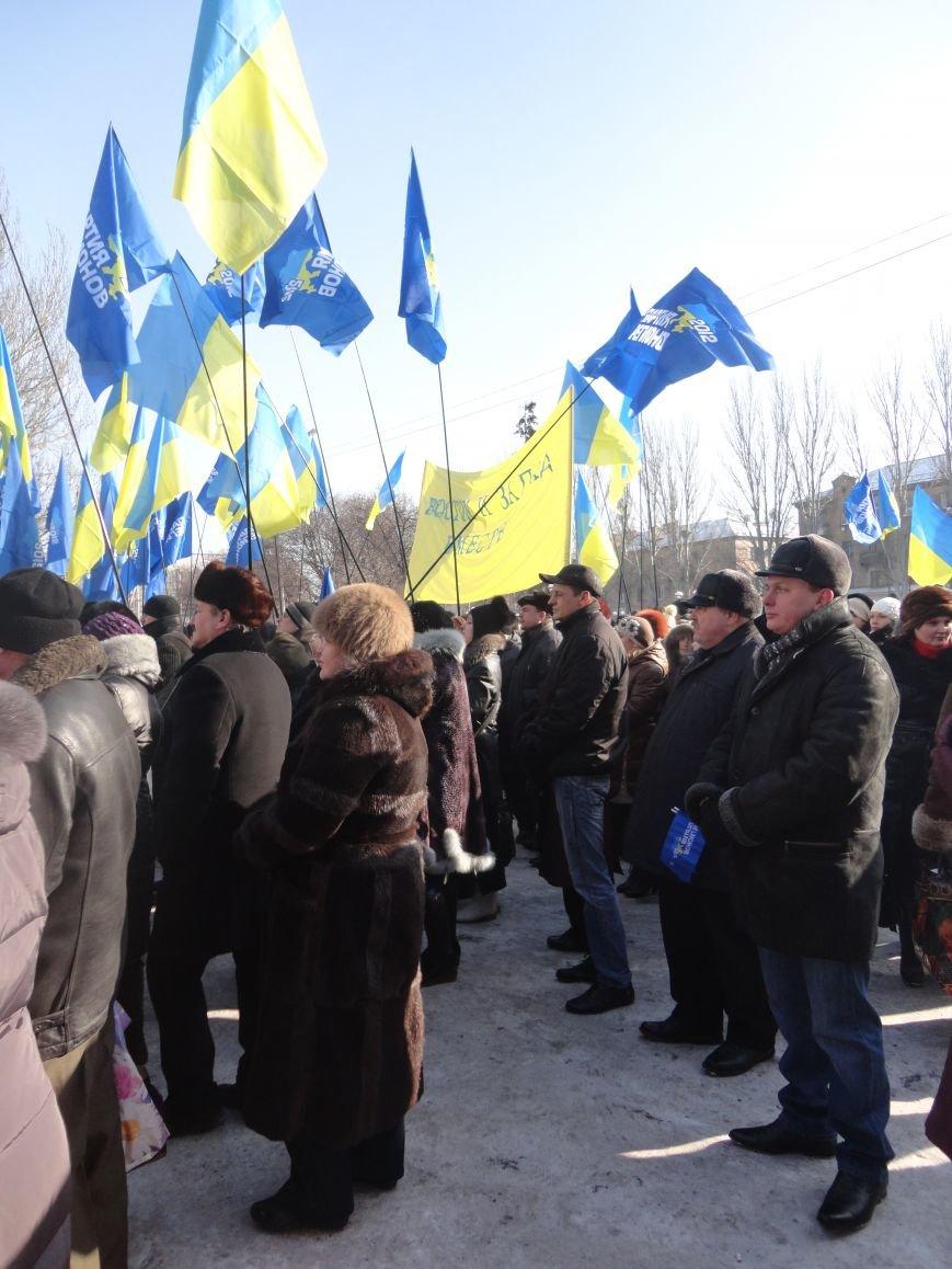Больше тысячи красноармейчан вышли на митинг в поддержку власти (ФОТО), фото-3