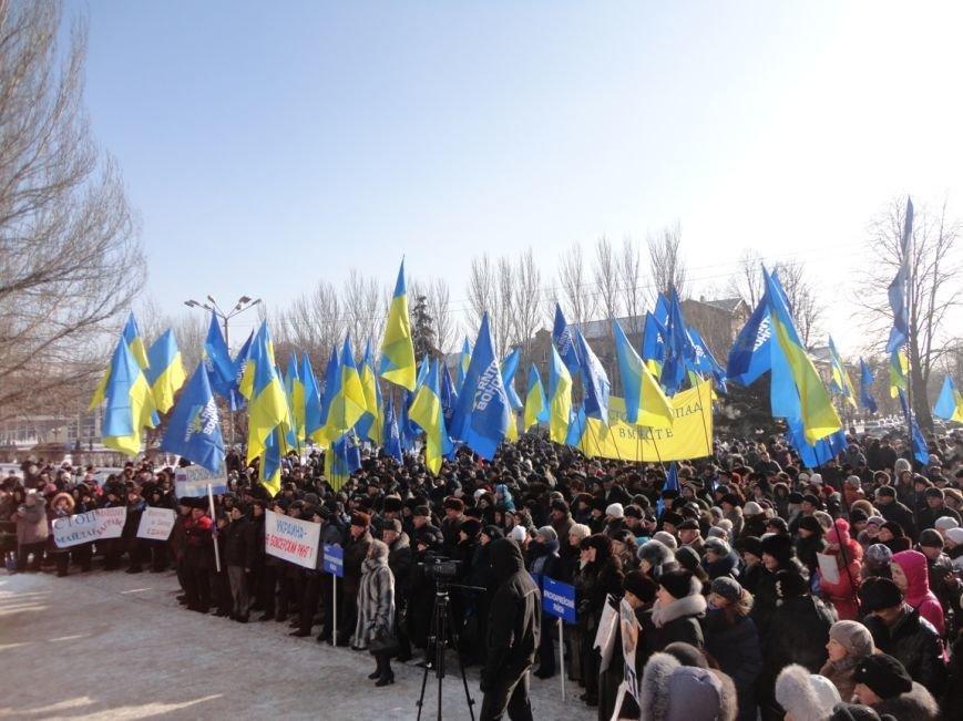 Больше тысячи красноармейчан вышли на митинг в поддержку власти (ФОТО), фото-14