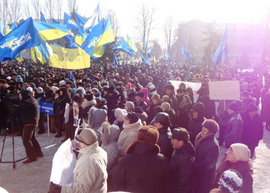 Больше тысячи красноармейчан вышли на митинг в поддержку власти (ФОТО), фото-13