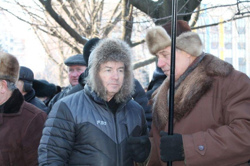 В Артемовске провели митинг в поддержку президента Януковича, фото-3