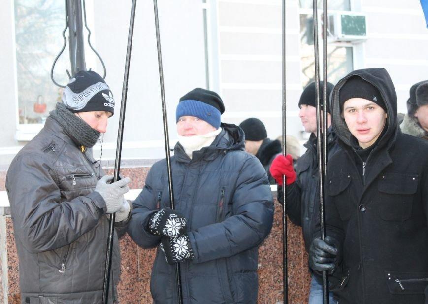 В Артемовске провели митинг в поддержку президента Януковича, фото-4
