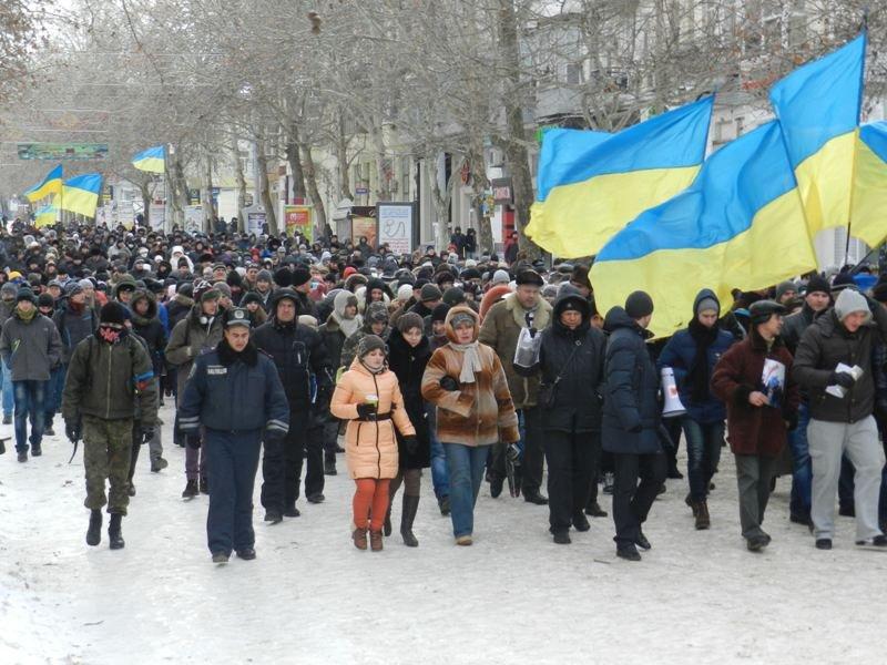 Николаевцы маршем-панихидой почтили память погибших киевских активистов (ФОТОРЕПОРТАЖ), фото-5