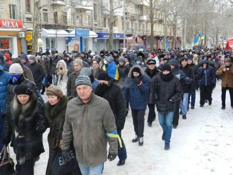 Николаевцы маршем-панихидой почтили память погибших киевских активистов (ФОТОРЕПОРТАЖ), фото-3