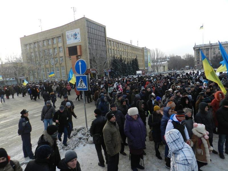 Николаевцы маршем-панихидой почтили память погибших киевских активистов (ФОТОРЕПОРТАЖ), фото-7