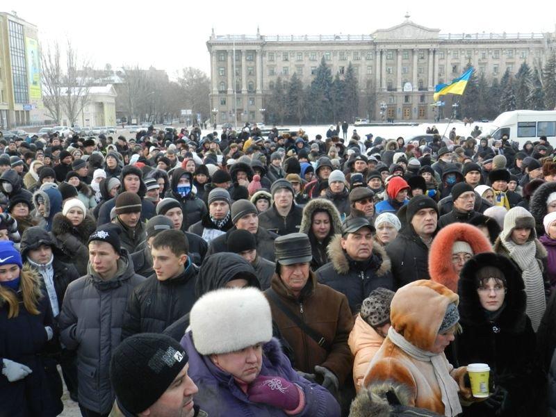 Николаевцы маршем-панихидой почтили память погибших киевских активистов (ФОТОРЕПОРТАЖ), фото-6