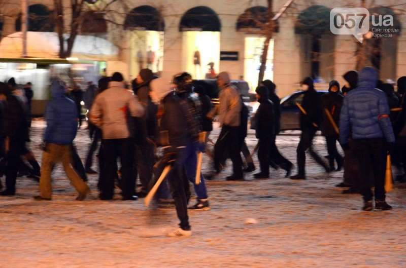 В центре Харькова на евромайдановцев напали «титушки». Пострадали также два журналиста (видео), фото-4