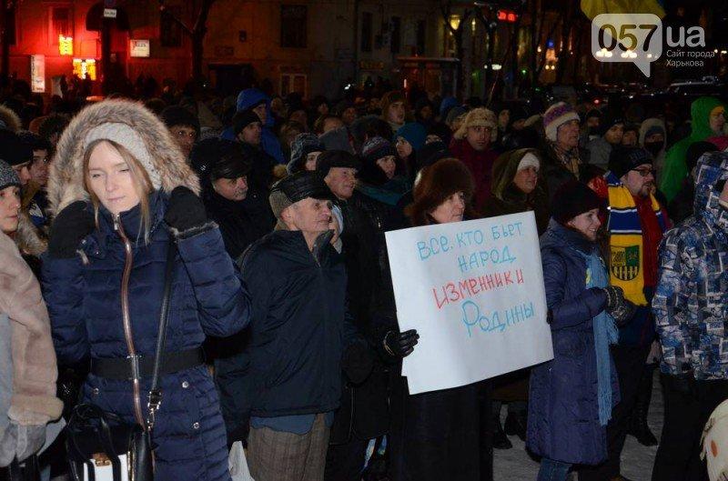 В центре Харькова на евромайдановцев напали «титушки». Пострадали также два журналиста (видео), фото-1