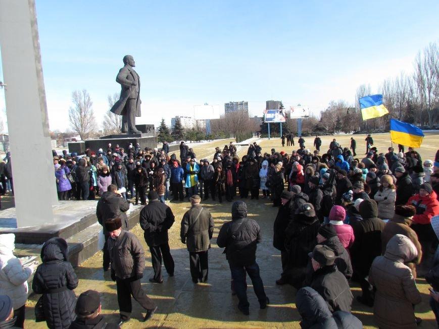 На мариупольском майдане  осудили политику правительства, пели гимн  и молились  за Украину ( ФОТО), фото-4