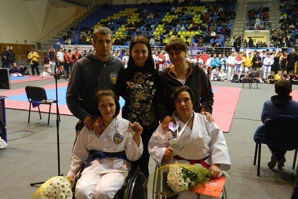 Мариупольские инвалиды-колясочники приняли участие в международном турнире по каратэ (ФОТО), фото-3