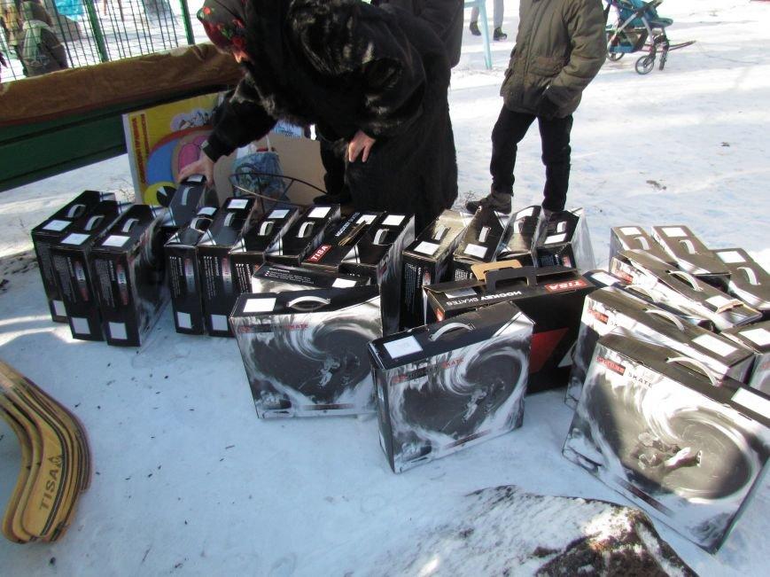 В Мариуполе  во всех районах города теперь  можно покататься на коньках (ФОТО), фото-1