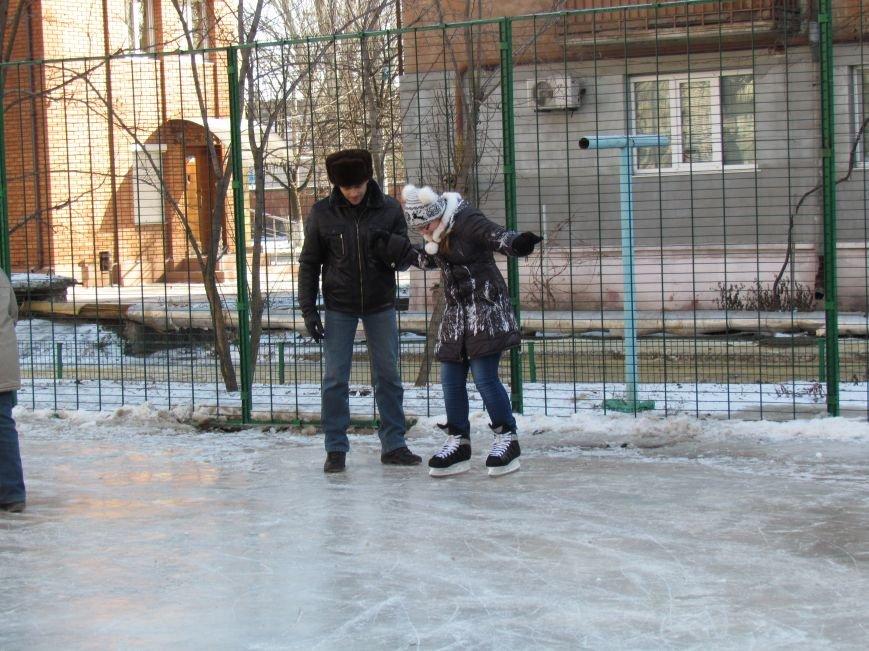 В Мариуполе  во всех районах города теперь  можно покататься на коньках (ФОТО), фото-6