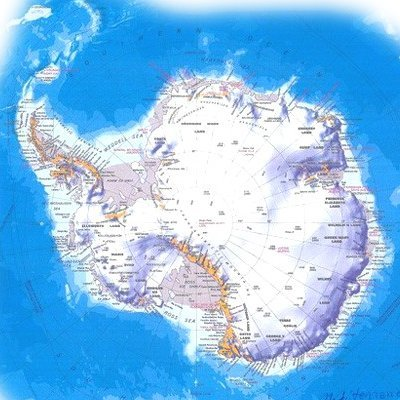 Антарктида-самый-высокий-материк-Земли