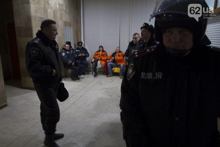 Донецкая ОГА готова к отпору врага. Журналисты требуют от местной власти защиты (фото), фото-5