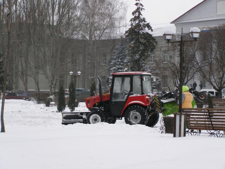 В Красноармейске на уборку снега брошены все силы, фото-2
