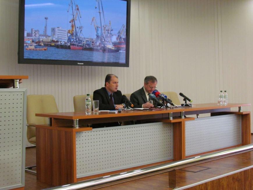 Мариупольский порт намерен заключить договор Limco Logistics Ukraine и  увеличить зарплаты и отчисления в местный бюджет ., фото-1