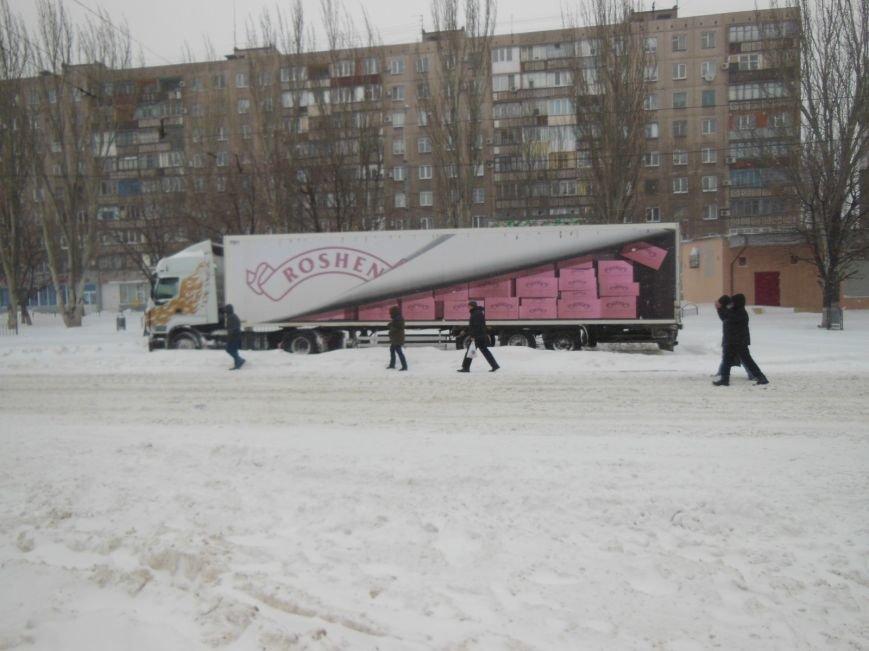 Снегопад в Мариуполе: транспортный коллапс, неработающие магазины, пустые школы (ФОТО, обновляется), фото-4