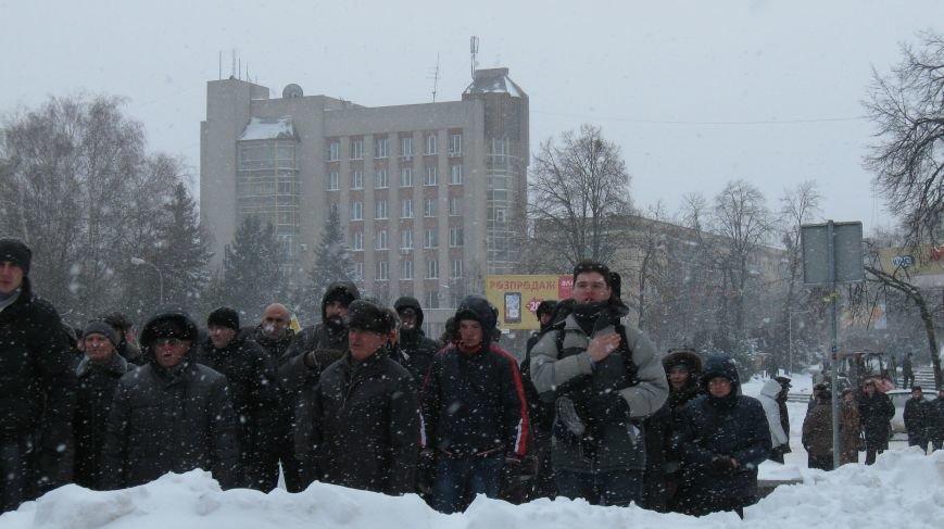 Під Житомирською ОДА сьогодні зібралось два мітинги (ФОТО), фото-17