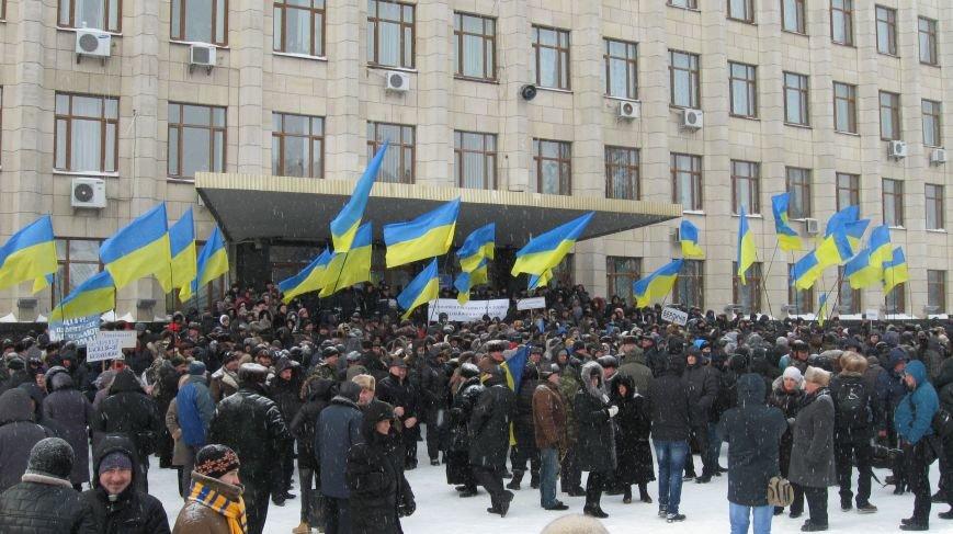 Під Житомирською ОДА сьогодні зібралось два мітинги (ФОТО), фото-20