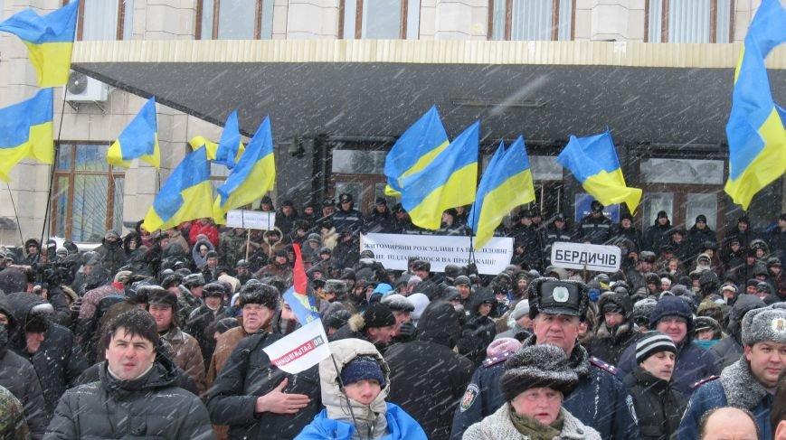 Під Житомирською ОДА сьогодні зібралось два мітинги (ФОТО), фото-18