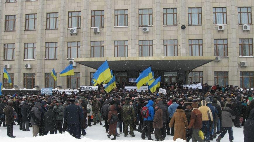 Під Житомирською ОДА сьогодні зібралось два мітинги (ФОТО), фото-11