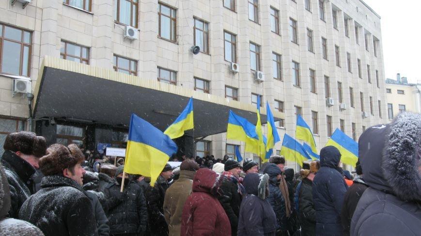 Під Житомирською ОДА сьогодні зібралось два мітинги (ФОТО), фото-9