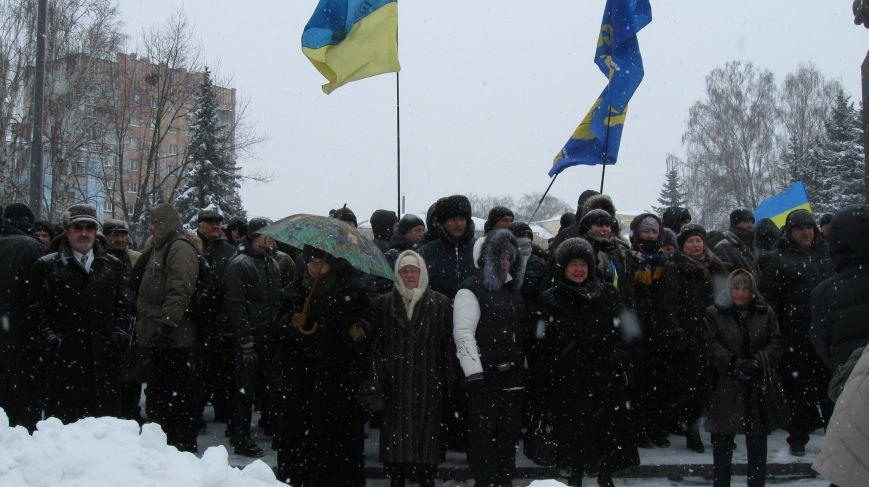 Під Житомирською ОДА сьогодні зібралось два мітинги (ФОТО), фото-16