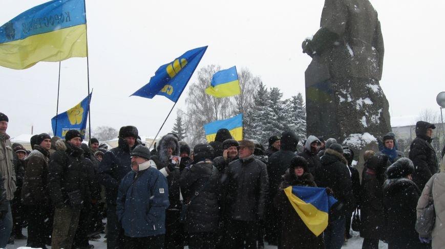 Під Житомирською ОДА сьогодні зібралось два мітинги (ФОТО), фото-19