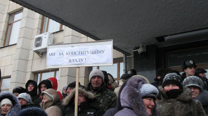 Під Житомирською ОДА сьогодні зібралось два мітинги (ФОТО), фото-6