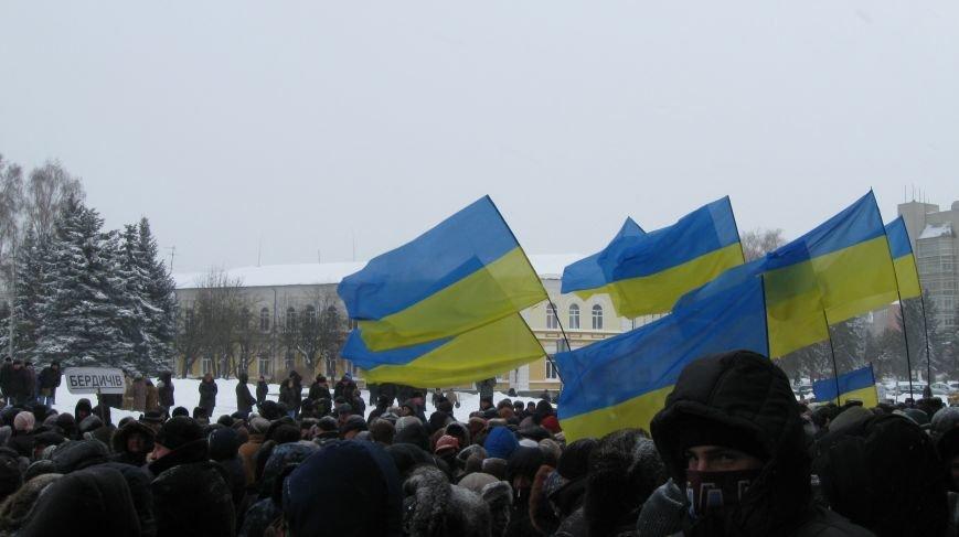 Під Житомирською ОДА сьогодні зібралось два мітинги (ФОТО), фото-1