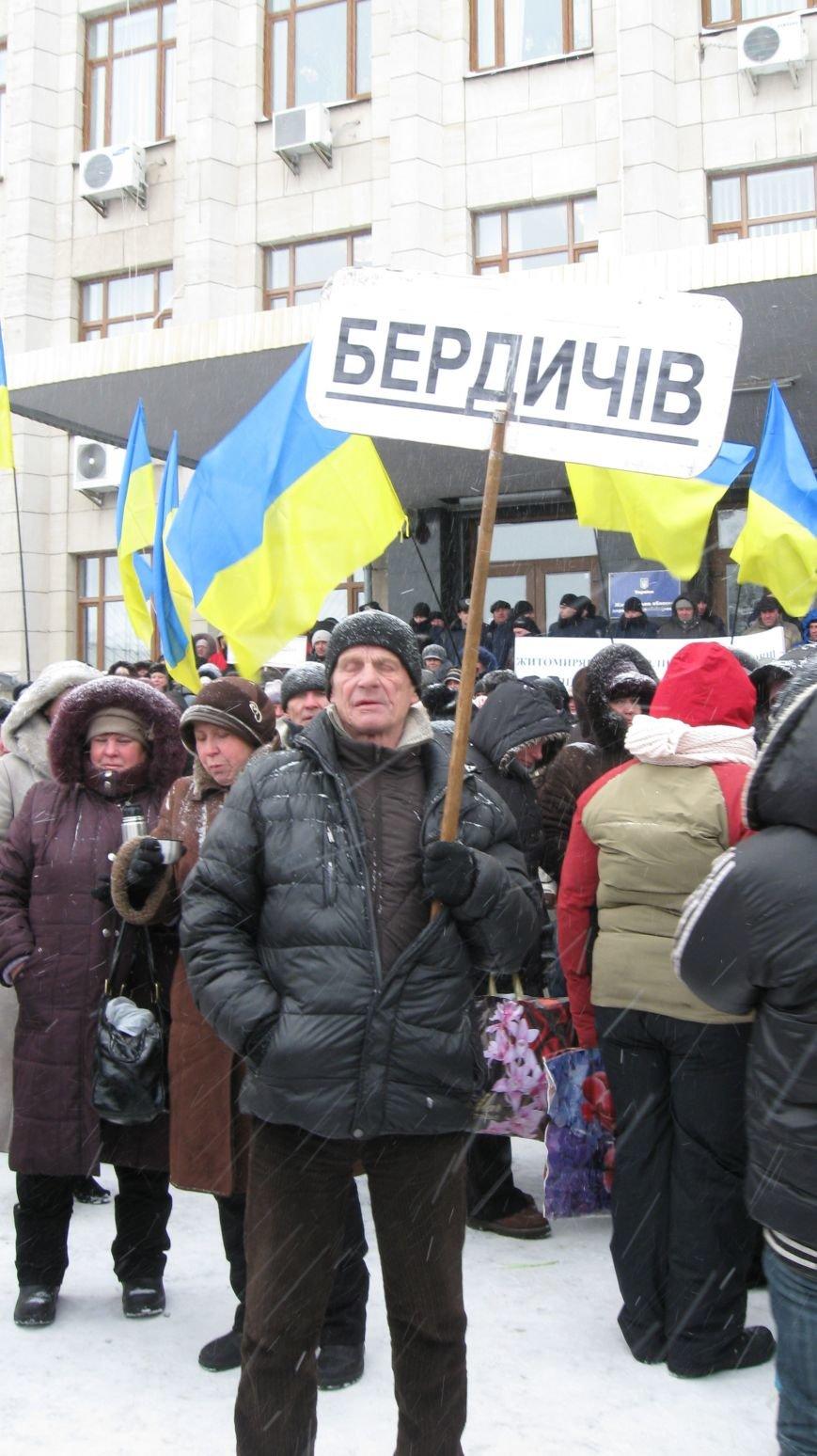 Під Житомирською ОДА сьогодні зібралось два мітинги (ФОТО), фото-5