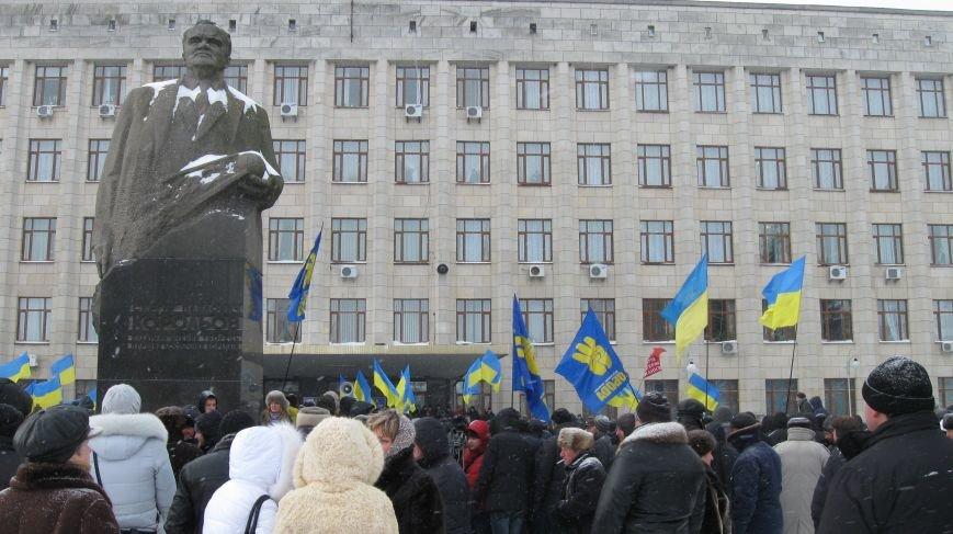 Під Житомирською ОДА сьогодні зібралось два мітинги (ФОТО), фото-21