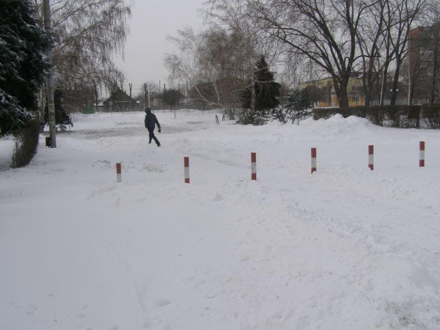 Зима по-Красноармейски. По прогнозам синоптиков снег сегодня будет идти весь день, фото-10