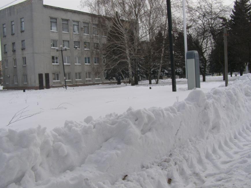 Зима по-Красноармейски. По прогнозам синоптиков снег сегодня будет идти весь день, фото-19