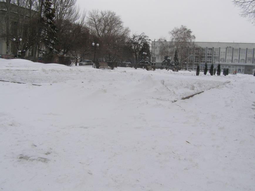 Зима по-Красноармейски. По прогнозам синоптиков снег сегодня будет идти весь день, фото-6